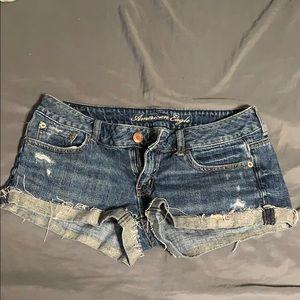 Jean American eagle shorts!